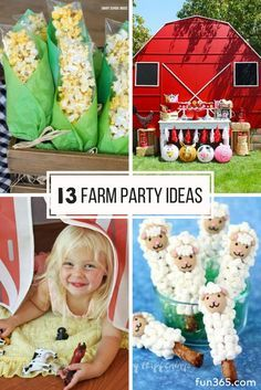 See our favorite farm themed birthday party ideas! We've rounded these ideas up . - See our favorite farm themed birthday party ideas! We've rounded these ideas up … See our favorite farm themed birthday party ideas! Animal Themed Birthday Party, Farm Themed Party, 2nd Birthday Party Themes, Farm Animal Birthday, Barnyard Party, 1st Boy Birthday, Farm Party Games, Boys 2nd Birthday Party Ideas, Country Themed Parties