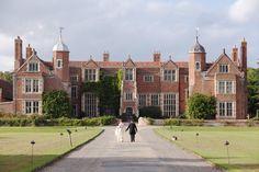 Beautiful UK wedding venues. Kentwell Hall, Sudbury, Suffolk. For more inspiration visit www.weddingsite.co.uk