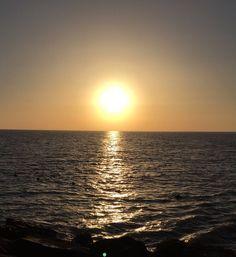 Puesta de sol en Rota by Cecilia