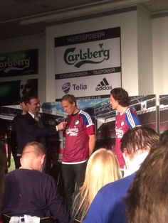 New #FCK third jersey being presented. Two days later Ludwig had the best debut since Ståle Solbakken