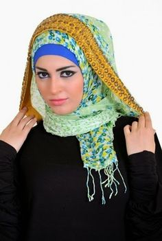 Latest Hijab Styles & Designs Tutorial with Pictures for Modern Girls 2015 (20)
