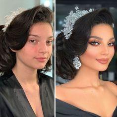 Amazing Wedding Makeup Tips – Makeup Design Ideas Wedding Makeup Tutorial, Wedding Makeup Tips, Bride Makeup, Hair Makeup, Makeup Salon, Eyebrow Makeup, Asian Makeup Tutorials, Dramatic Wedding Makeup, Make Up Anleitung