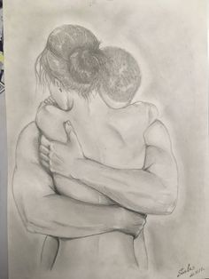 Don't go, stay with me Art Sketches, Art Drawings, Couple Painting, Couple Art, Art Studio Organization, Desenho Tattoo, Fantasy Art, Art Projects, Art Gallery