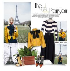"""Letters From Paris"" by thewondersoffashion ❤ liked on Polyvore featuring Fendi, A.L.C., Hogan, Yves Saint Laurent, Serge Lutens, Nina Ricci, Lancôme and LeVian"