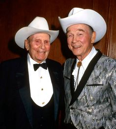 "Welcome To Jake's ""Who Knew? They Knew Each Other World"" A Celebration Of Friendship: Gene Autry & Roy Rogers in 1982"