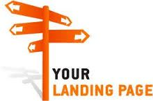 A landing page is a vital tool that helps direct your clients to  a particular page. Have a look at www.pamojamedia.com