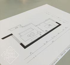 Technische tekening   Interieurontwerp Arnhem (de Laar)