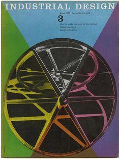 Jane Fisk Mitarachi [Editor]: INDUSTRIAL DESIGN. New York: Whitney Publications, Inc., Volume 2, Number 3, June 1955.