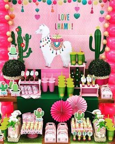 Sleepover Birthday Parties, Girls Birthday Party Themes, Birthday Party Decorations, Mexican Birthday, Fiesta Theme Party, Llama Birthday, Birthday Numbers, Party Gifts, First Birthdays