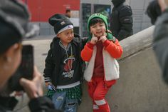 The Cutest Toddlers of Seoul Fashion Week Photos | W Magazine
