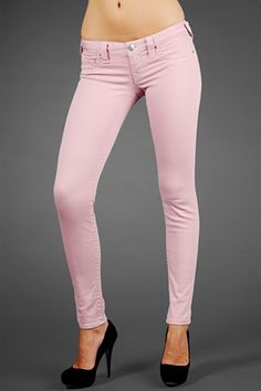 true religion breast cancer awareness pink skinnies