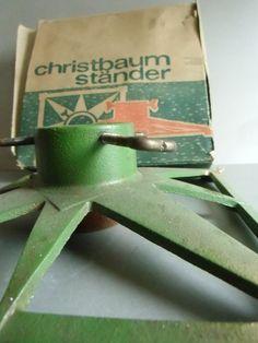 Vintage Christbaumständer  von susduett  auf DaWanda.com