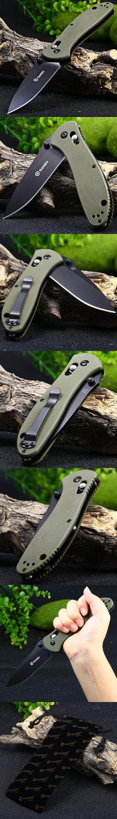 Pocket Knives and Folding Knives   Ganzo G7393-GR Axis Lock Pocket Knife $15.50