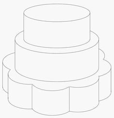 petal+base+2+round+tiers+-+petal+base+2+round+tiers Cake Templates, Design Templates, Design Your Own Cake, Decorating Tips, Cake Decorating, Petal Cake, How To Make Decorations, Cake Pricing, Cake Factory