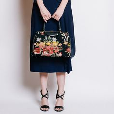 '60s Needlepoint Handbag by {re}collect vintage