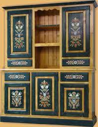 mobila traditionala romaneasca - Búsqueda de Google Retro Furniture Makeover, Hand Painted Furniture, Stencil Painting, Woodworking Furniture, Design Reference, Furniture Making, Folk Art, Stencils, Mandala