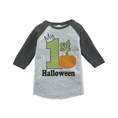 Custom Party Shop Youth My First Halloween Shirt