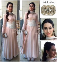 Karisma Kapoor in Manish Malhotra's design! Minimalistic and stunning!!