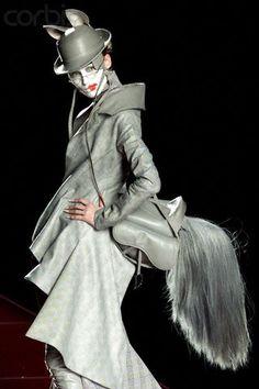 Galliano for Dior fashion