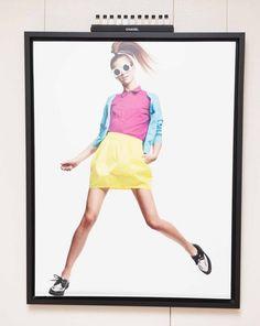 Color skirt blouse BRIGHT COLORS