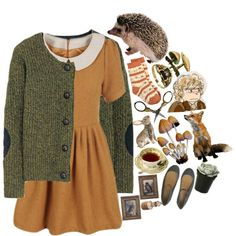 little hobbit by girl-with-kaleidoscope-eyes on Polyvore featuring Aubin & Wills