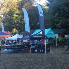 Set up for Race Around the Rock in Seattle! #seattle #roundtherock #paddleboarding #aztekpaddles #supracer #supsurf