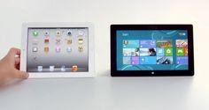 Apple e Microsoft. Olhe bem as diferenças!