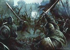 swordreign:Illustrations by Darek Zabrocki Medieval Knight, Arte Medieval, Medieval Fantasy, Armures, Fantasy Story, Sci Fi Fantasy, Fantasy World, Dark Fantasy, Fantasy Battle
