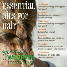 Essential Oils for Hair: Whether you're concerned about hair loss, thinning hair, or hair that grows slow, try adding doTERRA essential oils to your hair care products for health-boosting benefits, be (Thin Hair Remedies) Essential Oils For Babies, Doterra Oils, Doterra Essential Oils, Young Living Essential Oils, Essential Oil Blends, Young Living Oils, Young Living Hair, Hair Loss Remedies, Hair Growth Oil