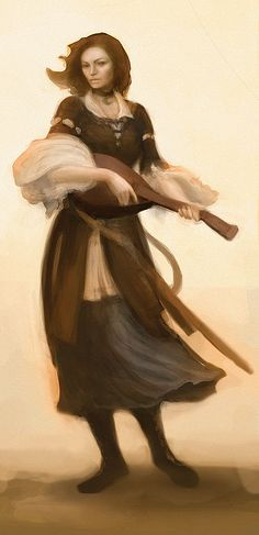 Lady Bard of Silverymoon by ElmUnderleaf.deviantart.com on @DeviantArt