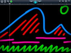 ipad app Create musical masterpieces with a swipe of your finger. Draw a line or a shape to create sound, and let SoundBrush turn it into music. Music Activities, Ipad App, Elementary Music, Music Therapy, Music Classroom, Too Cool For School, Teaching Music, Kandinsky, Music Lessons