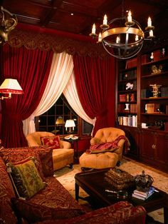 Cozy Home Library On Pinterest Home Libraries Cozy Homes And Home