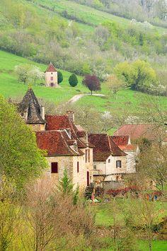 Autoire, France (by Sigfrid López)