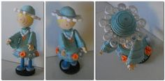 StaceySmile Creations - Cute quilled doll - she sells her work - go to her blog!