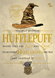 Harry Potter (Sorting Hat Hufflepuff) MightyPrint Wall Art