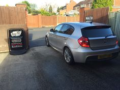 2011 BMW 1 Series in this afternoon for 18% Carbon Tints to the rear.