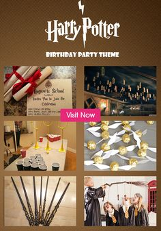 Looking out for interesting ideas to throw a themed birthday party? Check out Harry Potter themed party ideas and simple ways to organize it.