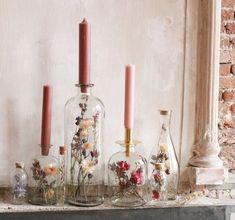 Wedding Table, Diy Wedding, Decoration Evenementielle, Ideias Diy, Deco Floral, Wedding Decorations, Table Decorations, Dried Flowers, Flower Arrangements