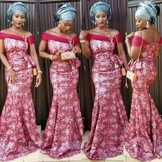 Top Ten Adorable and Most Recent Asoebi Styles In Nigeria  Dabonke