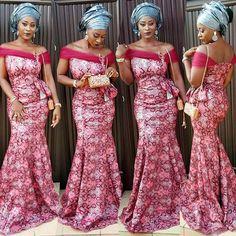 Top Ten Adorable and Most Recent Asoebi Styles In Nigeria  Dabonke