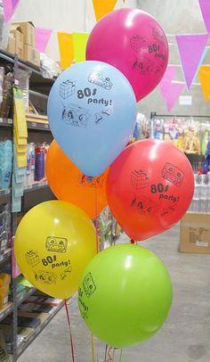 80's balloons