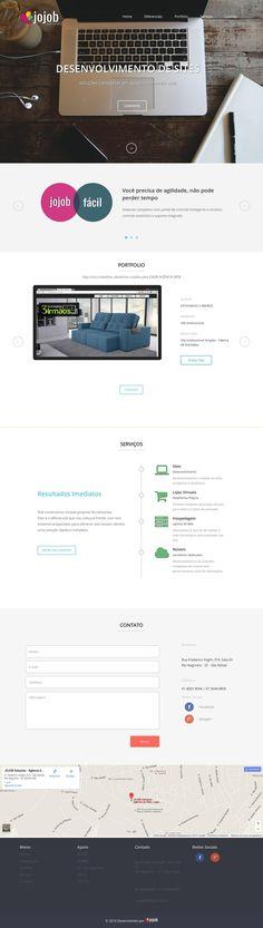 Novo website JOJOB Agência WEB.