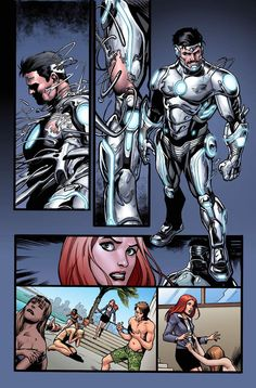 SUPERIOR IRON MAN #1 PREVIEW #1
