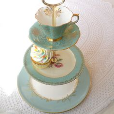 Alice & the Tiffany Box Vintage China