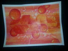 """Mixed Media Lesson.  Art Teacher """"Razzberry Stashia"""""""