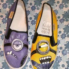 zapatos vans de minions