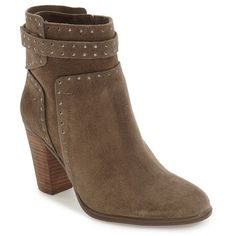 Women's Vince Camuto 'Faythes' Bootie ($159) ❤ liked on Polyvore featuring shoes, boots, ankle booties, velvet dream, vince camuto, short boots, ankle bootie boots, ankle boots and vince camuto booties