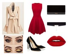 """""""Dot."""" by joanne-jkmn on Polyvore featuring Alexander McQueen, Balmain and 8 Other Reasons"""
