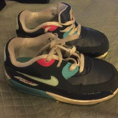 Nike. Air max children/toddler Blue nike air max size 9c toddler/baby Nike Shoes Sneakers