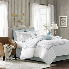 Harbor House Maya Bay - 8 Piece Comforter Set, Queen Harbor House http://www.amazon.com/dp/B00H6TAY90/ref=cm_sw_r_pi_dp_Pc9xvb0SMNWZA